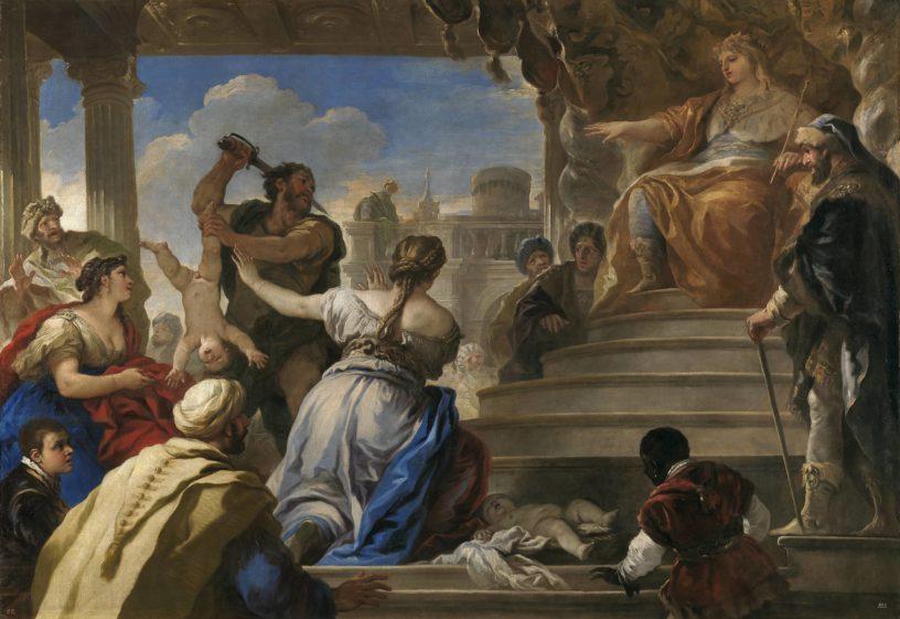 Juicio de Salomon (Luca Giordano)