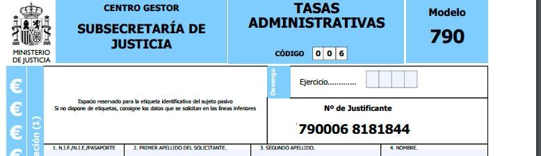 Un trámite importante de la herencia es solicitar mediante el modelo 790 el certificado de actos de última voluntad.